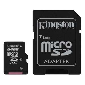 Carte mémoire Kingston 64Go Micro SDXC Calsse 10