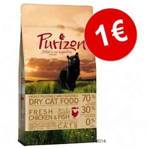 400g de croquettes pour chat adulte Purizon
