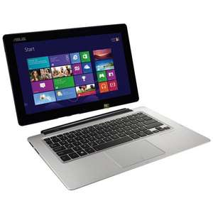"Ultrabook hybride tactile 13.3"" Asus Transformer Book TX300CA - Full HD, i5, 4Gb RAM, 128 SSD + 500Go HDD, Windows 8 Pro"