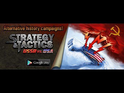 Jeu Strategy & Tactics:USSR vs USA sur Android