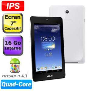 "Tablette 7"" Asus MemoPad ME173X 16Go Blanc"