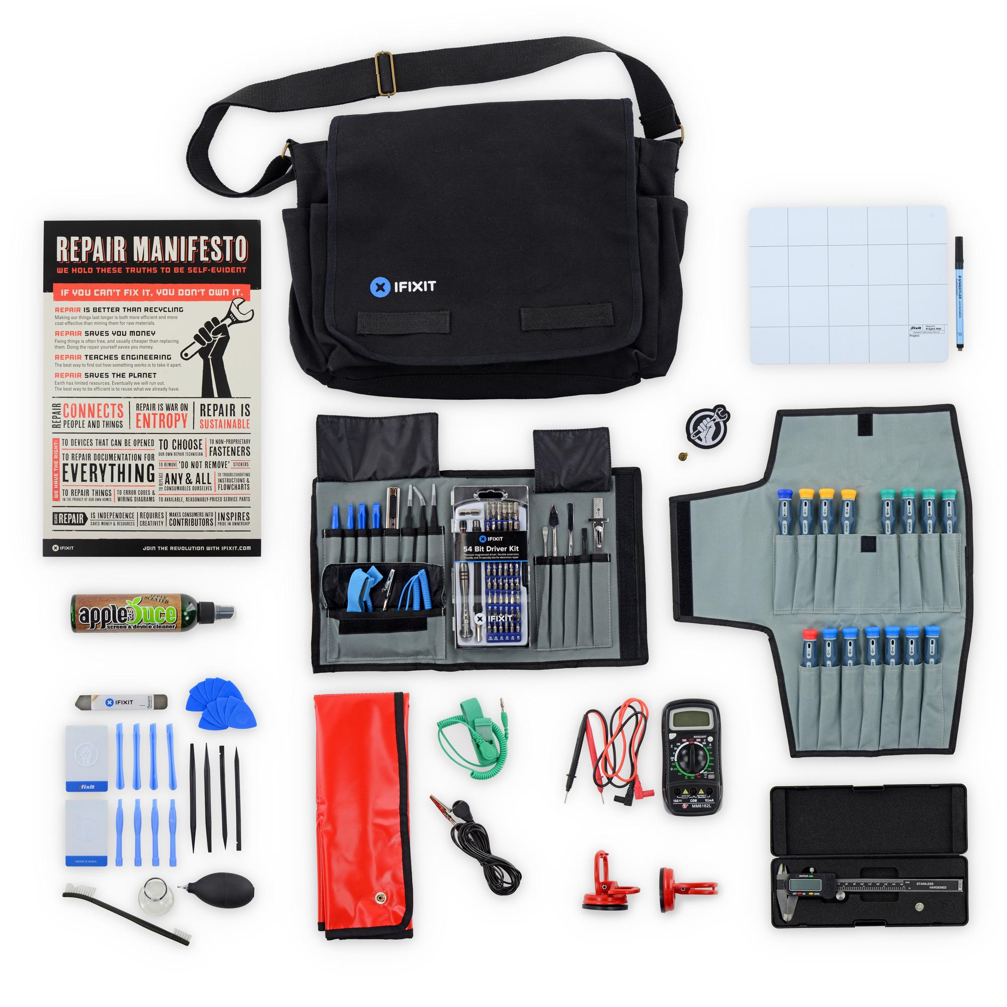 Repair Business Toolkit : Sac d'outils pour réparer les objets électroniques