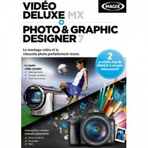 Logiciel photo Magix Vidéo Deluxe MX + Photo & Graphic Designer 7