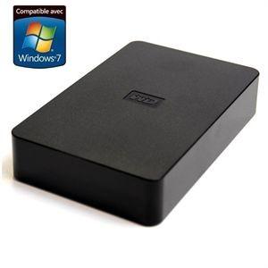 """Disque dur externe 3.5"""" 1,5 To USB 2.0 noir"""