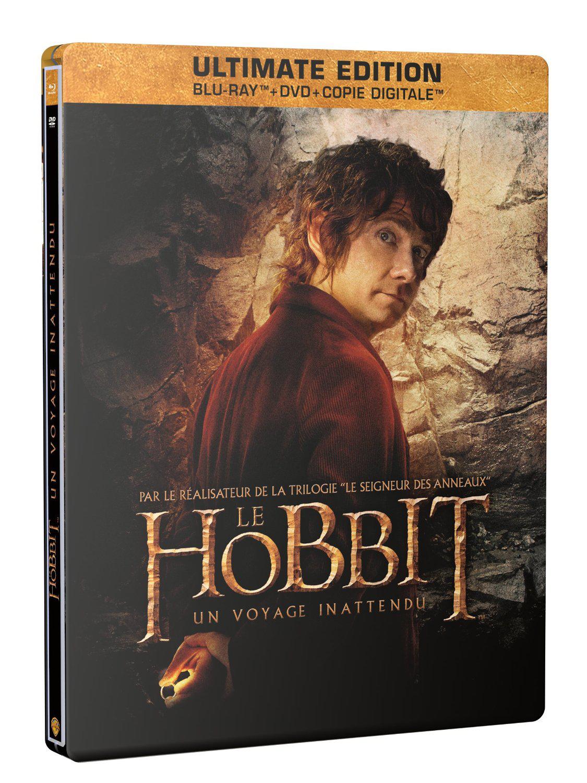 Coffret Le Hobbit : Un voyage inattendu (Ultimate Edition Steelbook Golum - Blu-ray + DVD + Copie digitale)