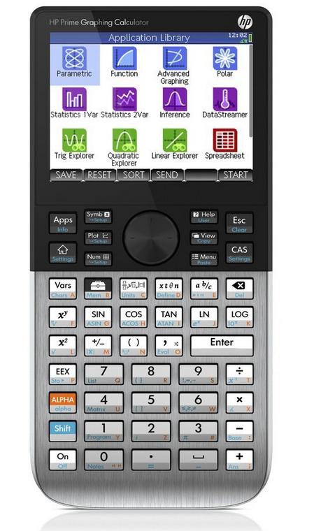 Calculatrice graphique écran tactile couleur HP Prime (15€ ODR)