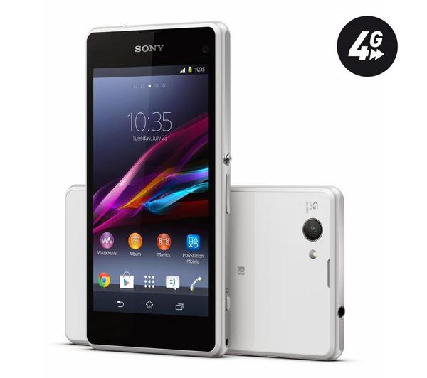 Smartphone Sony Xperia Z1 Compact - blanc - 16 Go - 4G