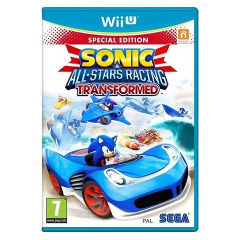 Sonic & All-Stars Racing: Transformed sur Wii U