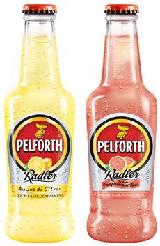 Pack 6x25cl Pelforth Radler Pamplemousse Rose ou Citron