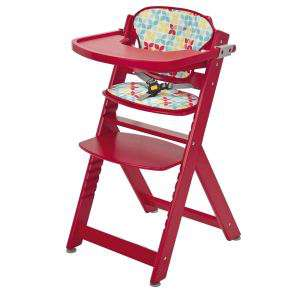 Chaise Totem Safety 1ST Coussin Playtime Rouge