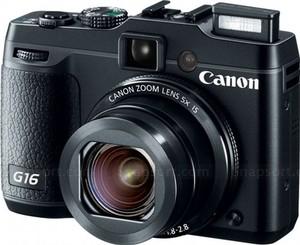 Appareil photo numérique Canon PowerShot G16 - Noir