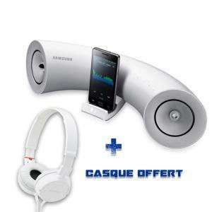 Station d'accueil iPad/iPhone/iPod Samsung DA-E550 + Casque Sony MDR-ZX100
