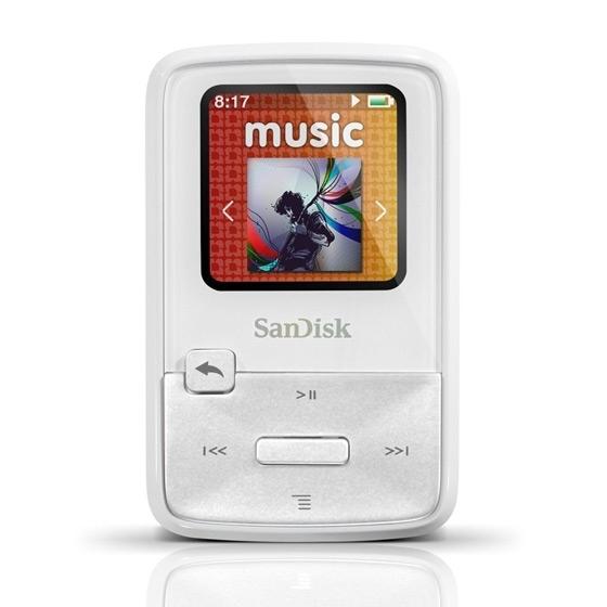 Lecteur MP3 4Go SanDisk Sansa Clip Zip