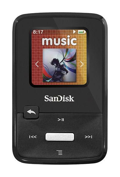 Lecteur MP3 4Go SanDisk Sansa Clip Zip Reconditionné comme neuf, garantie par le constructeur