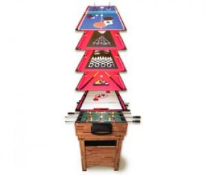 Table multi-jeux 12 en 1 Arcade Jeux (par René Pierre) - Avec code promo
