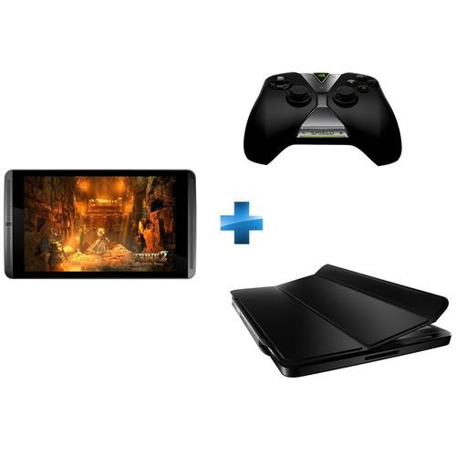 "Tablette Nvidia Shield 8"" 16 Go Wifi  + cover + manette"