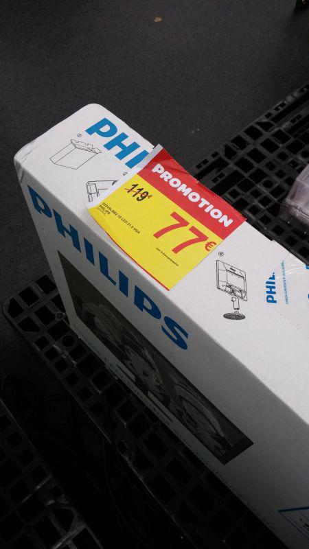 "Plusieurs produits en promo - Ex : Ecran PC 21"" Full HD LED Philips 223V5LSB2"