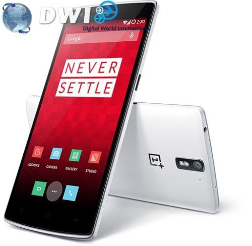 Smartphone One+ One 4G 16Go Blanc