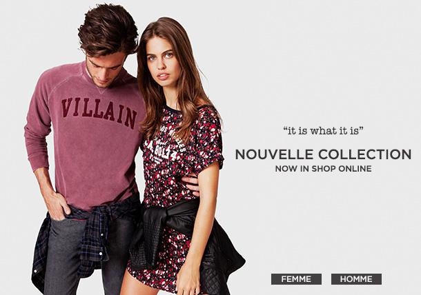 -30% sur la nouvelle collection Homme & Femme