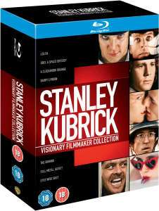 Coffret 8 Blu-Rays Stanley Kubrick