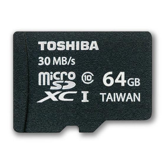 Carte mémoire micro SDXC 64GO UHS-1 Toshiba