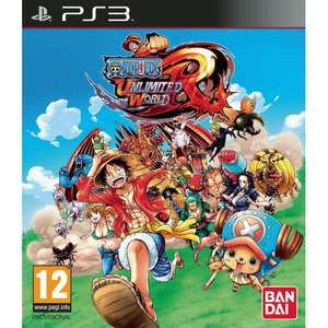 Jeu One Piece unlimited world red sur PS3