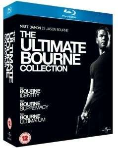 Coffret 3 Blu-ray The Ultimate Bourne Collection