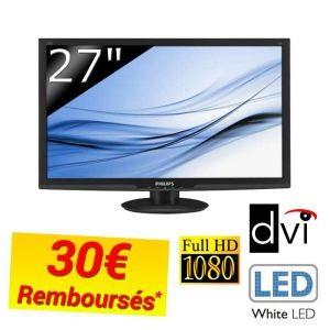 Ecran 27' Philips 273E3LSB avec ODR (30€)