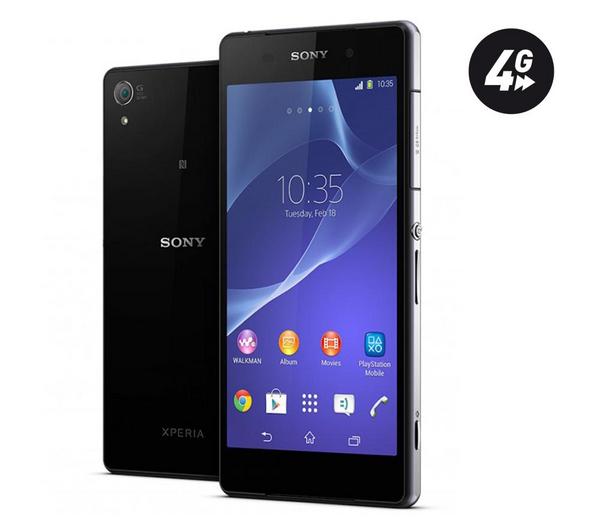 "Smartphone 5.2"" Sony Xperia Z2 16 Go 4G Noir"
