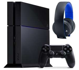 Console Sony Playstation 4 + Casque sans fil Sony Wireless Stereo