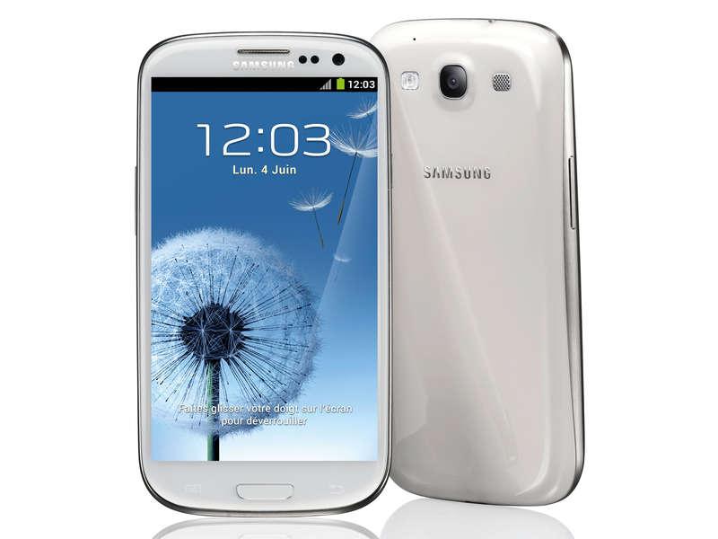 Smartphone Samsung Galaxy S3 16G 4G Blanc ou Noir + 50€ en carte cadeau