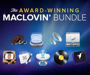 Award Winning MacLovin' Bundle : 9 applicatins Mac (Cinemagraph Pro, Moom, Hype 2, The OS X App Masterclass...)