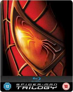 Coffret Blu-ray Trilogie Spider-Man Steelbook