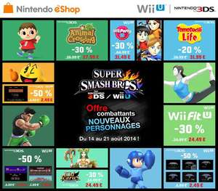 Jeux Nintendo 3DS et Wii U en promo - Ex : Kid Icarus Uprising