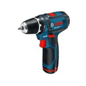 Perceuse/Visseuse Sans Fil Bosch Gsr 10.8-2-Li - Coffret avec 2 batteries Bosch
