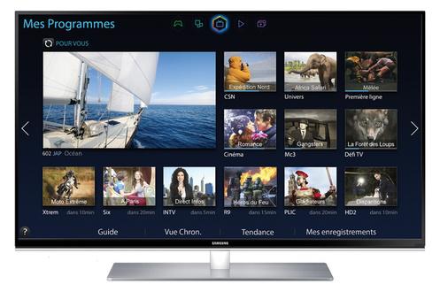 """Téléviseur 48"""" Samsung UE48H6670 Smart 3D - 2 paires de lunettes fournies (Avec ODR 100€)"""