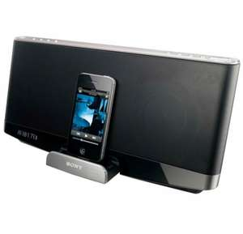 Dock iPhone/iPod/iPad Sony RDPXF300 IP - Bluetooth - 2 x 20W
