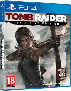 Tomb Raider Definitive Edition sur PS4 (Version Digitale)
