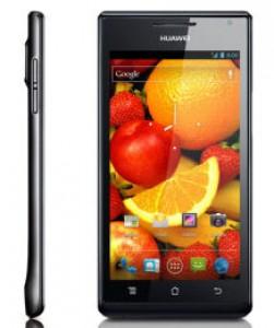 Huawei Ascend P1 (Noir)