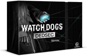 Watch Dogs - Edition collector Dedsec sur PC à 45.35€, PS3 et XBOX 360 à 55.43€, XBOX One et PS4