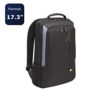 "Sac à dos Case Logic VNB217 en nylon pour PC portable (17.3"")"