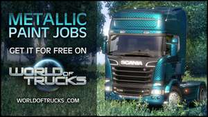 Metallic Paint Jobs - Pack de peintures pour Euro Truck Simulator 2 gratuit (Steam)