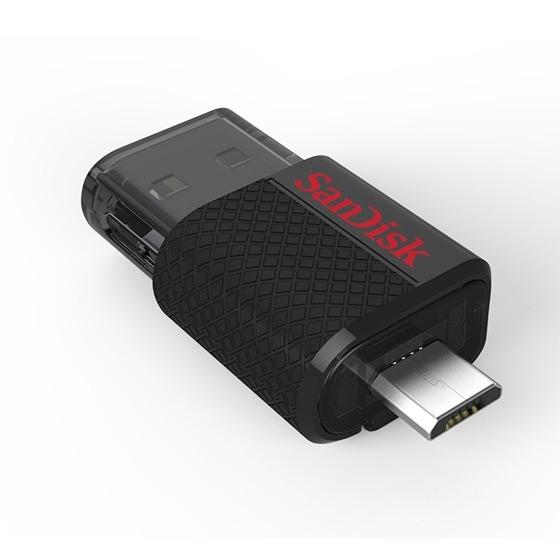 Clé OTG Ultra Dual SanDisk mémoire 64GO microUSB et USB