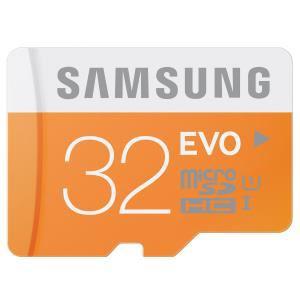 Carte mémoire MicroSD Samsung EVO 32 Go - Classe 10