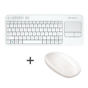 Souris tactile Logitech T620 + Clavier sans fil Logitech touch K400