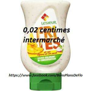 Flacon sauce Lesieur (Frites, Curry ou Patates) - 230 g