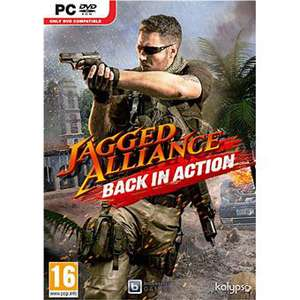 Jagged Alliance Back in Action sur PC