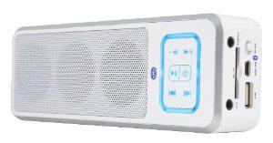 Enceinte Bluetooth Peavey BTS 2.2 (avec port carte SD et USB) - Blanc