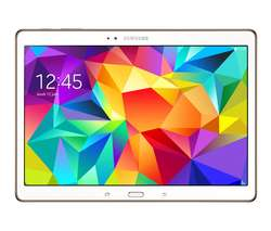 "Tablette Samsung Galaxy Tab S 10,5 "" Blanc + Carte 16 Go (Avec ODR de 70€)"