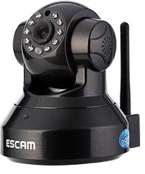 Camera IP Escam Pearl QF100 HD 720p WIFI